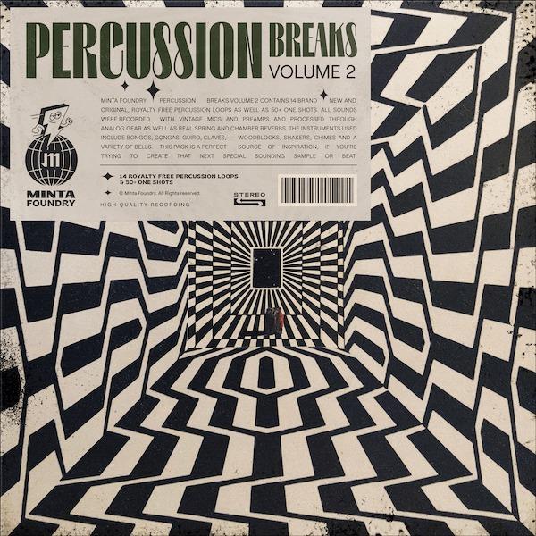 Minta Labs x Minta Foundry - Percussion Breaks, Volume 2