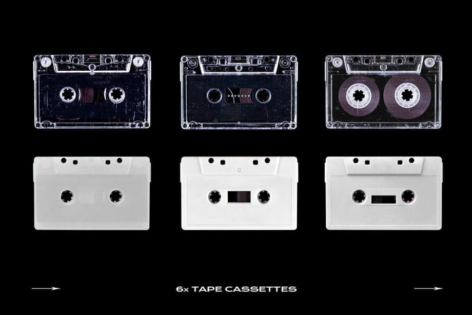 PrintPixel Cassette Tape Mockup Bundle Plastic 3
