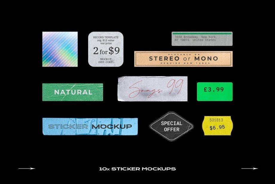 PrintPixel Cassette Tape Mockup Bundle Plastic 4