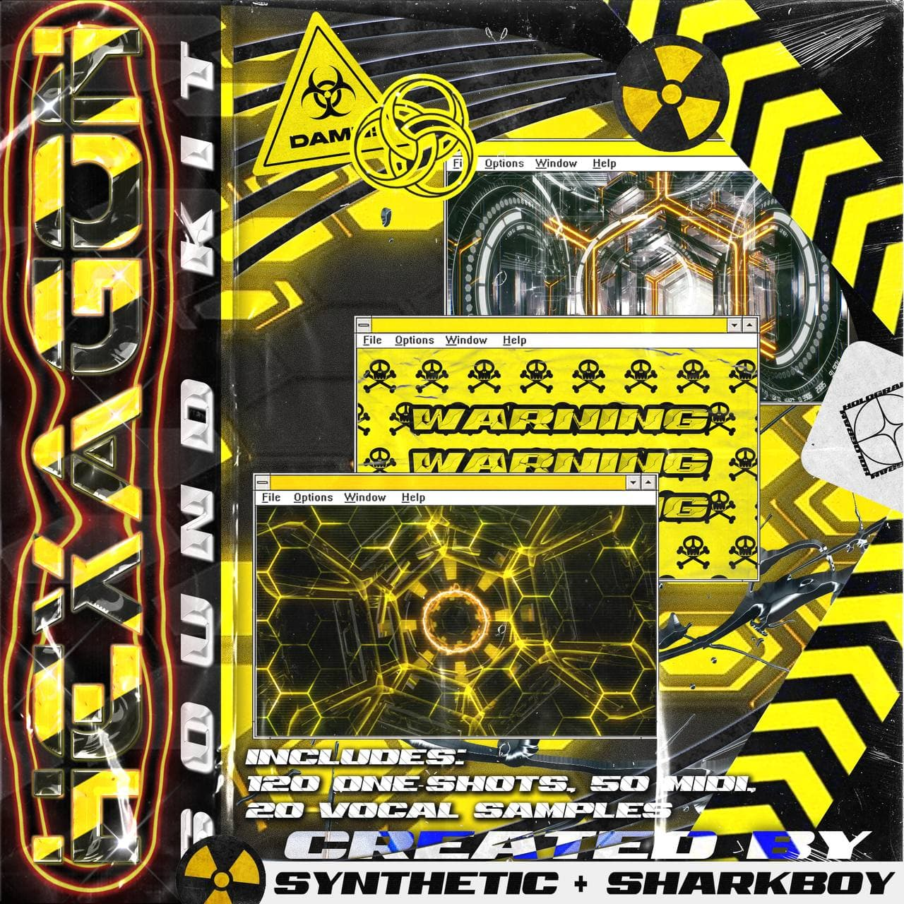 Synthetic x sharkboy - Hexagon Sound Kit