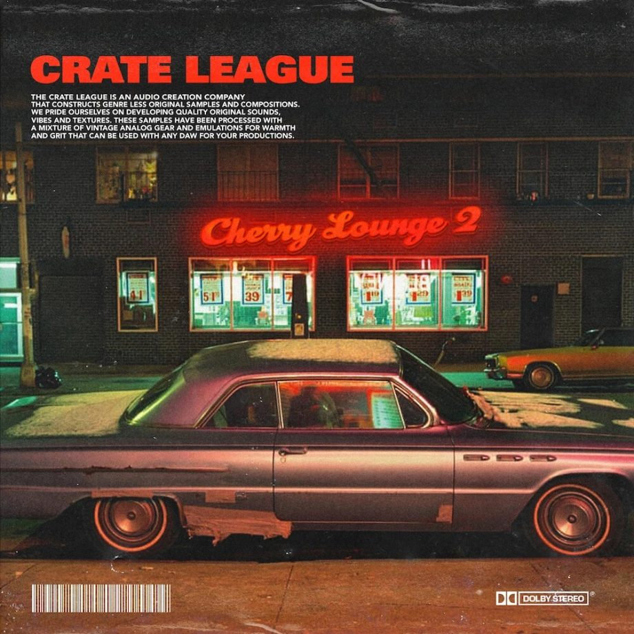 The Drum Broker - The Crate League - Cherry Lounge Loop Pack Vol. 2