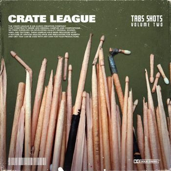 The Drum Broker - The Crate League - Tab Shots Vol. 2 (One Shot Drum Kit)