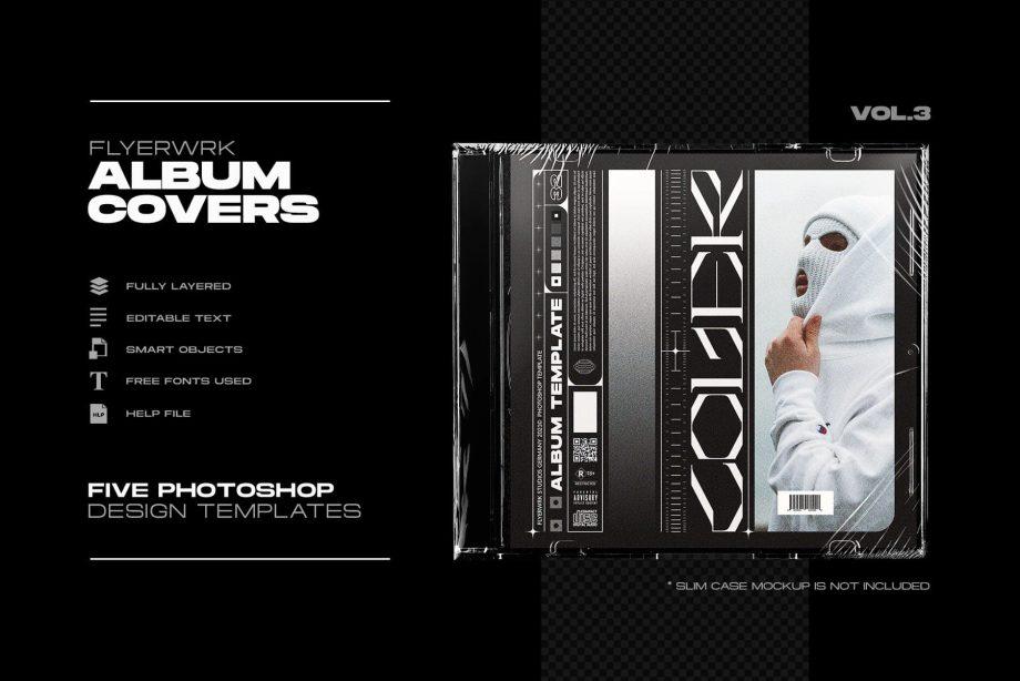 flyerwrk - Cover Designs Vol. 03