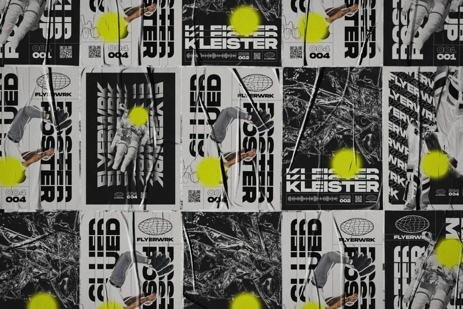 flyerwrk Glued Poster Textures 6