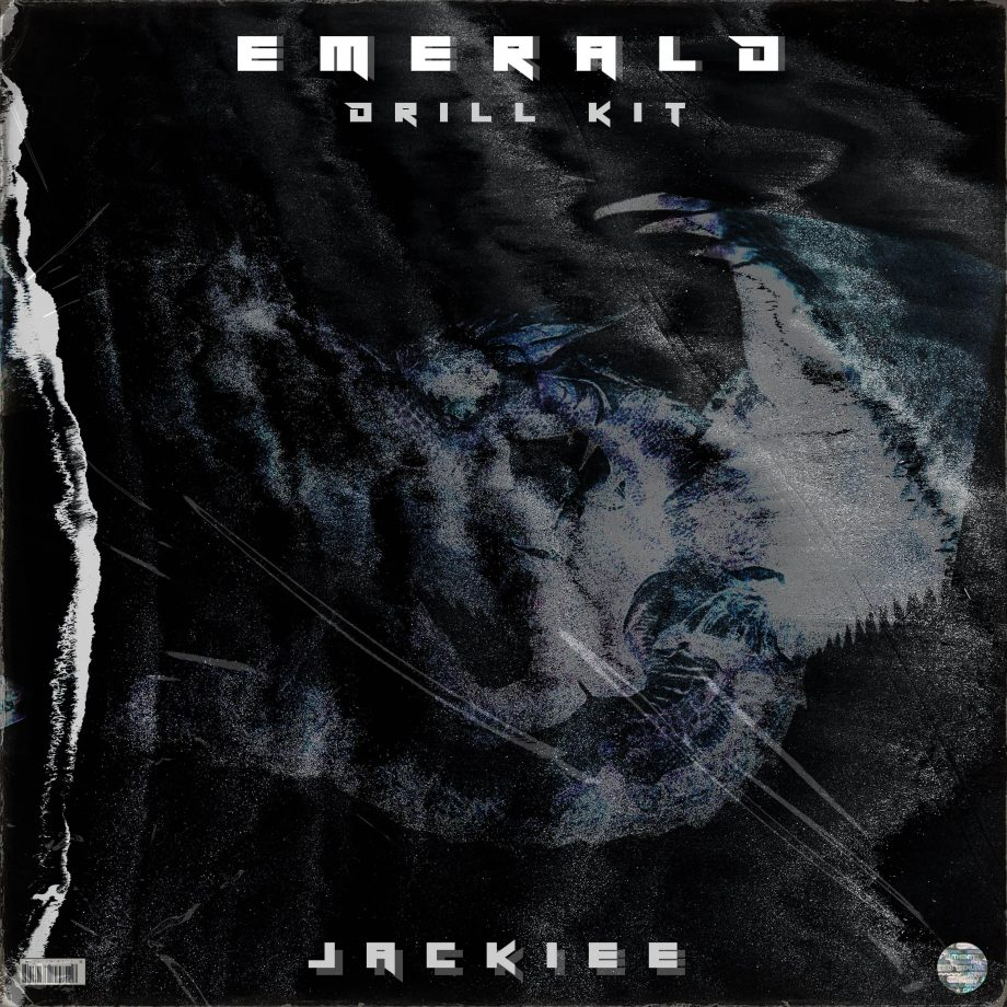 prodbyjackiee EMERALD Drum Kit scaled