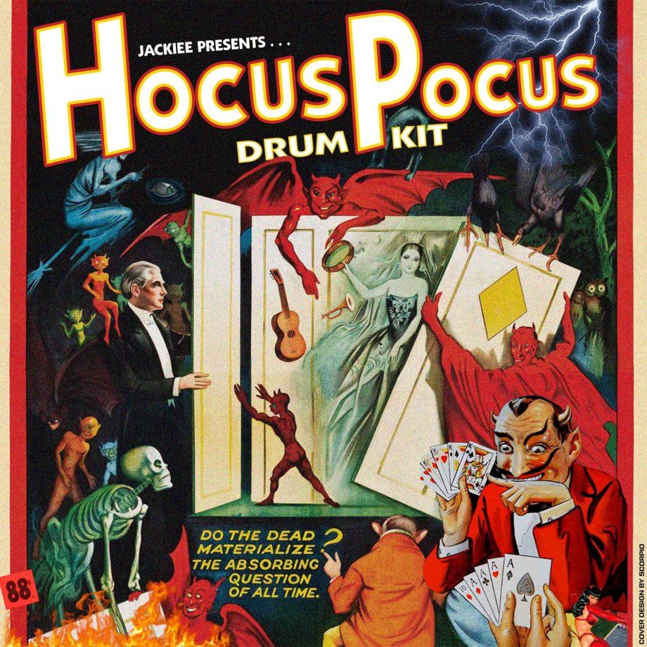 prodbyjackiee - Hocus Pocus (Drum Kit)