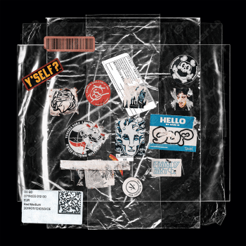 superunknown - 23 Plastic bag Mockups PSD + 19 bonus sticker VOL. 2