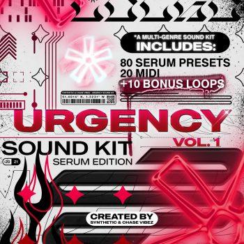 Drumify - ChaseVibez & Synthetic – Urgency (Serum Bank)