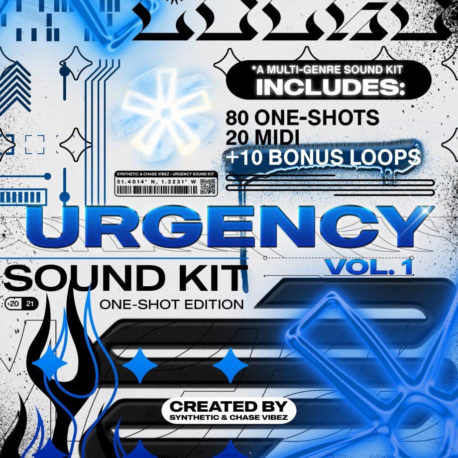 Drumify ChaseVibez Synthetic Urgency One Shot Kit scaled