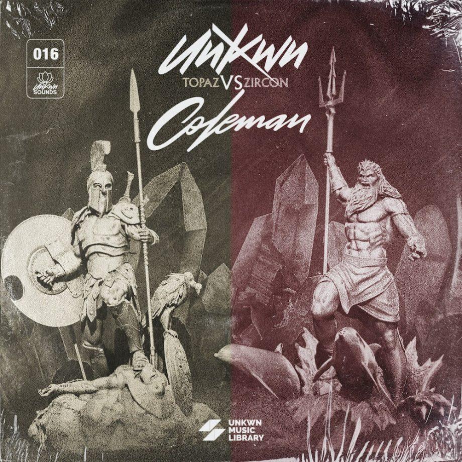 The Drum Broker - UNKWN Sounds - Topaz vs. Zircon (feat Coleman)