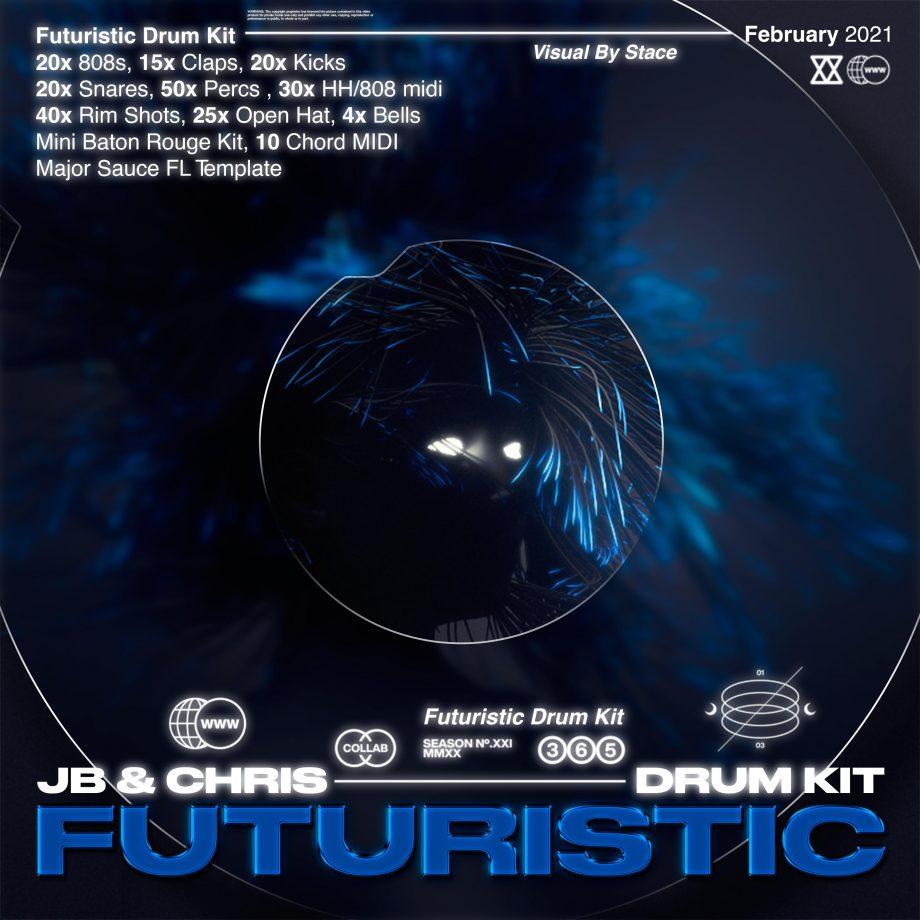 jbsaucedup x chrisgotsauceee - Futuristic Drum Kit