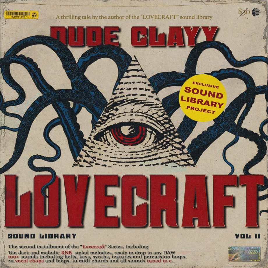 Drumify - Dude Clayy - Lovecraft II (Sample Library)