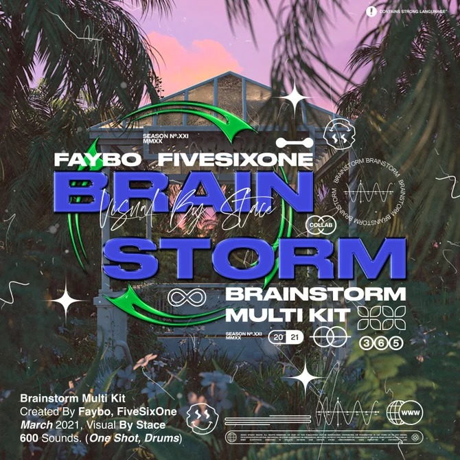 Faybo & Fivesixone - Brainstorm (Multi Kit)