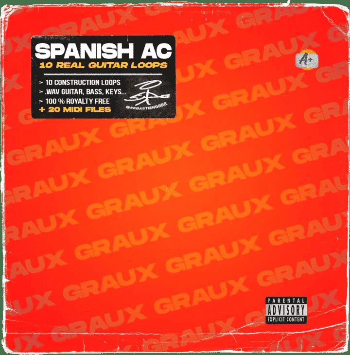 GRAUX - SPANISH AC Guitar Loop Pack