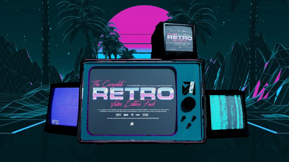 James Abadi Design - The Complete Retro Video Editors Pack