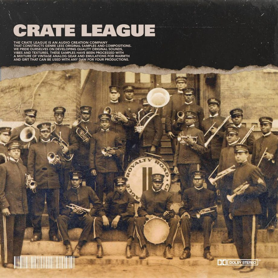 The Drum Broker The Crate League Royalty Road Vol. 2
