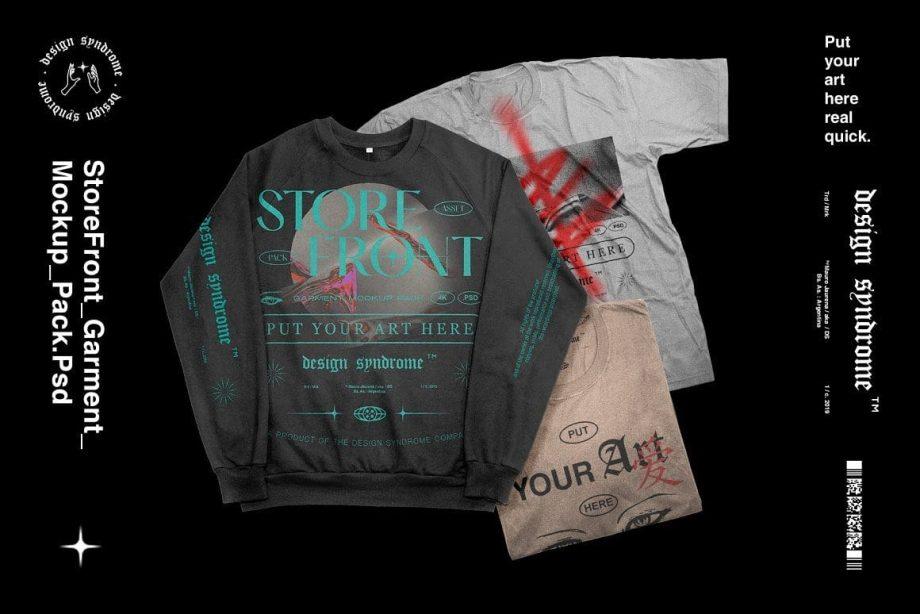 Design Syndrome - Storefront Mockup Pack