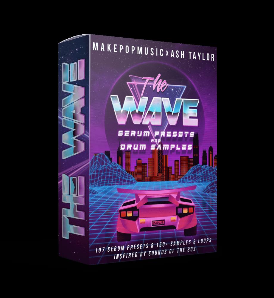 Make Pop Music - The Wave (Serum Presets & Drum Samples)