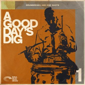 The Drum Broker - British Music Library - A Good Days Dig
