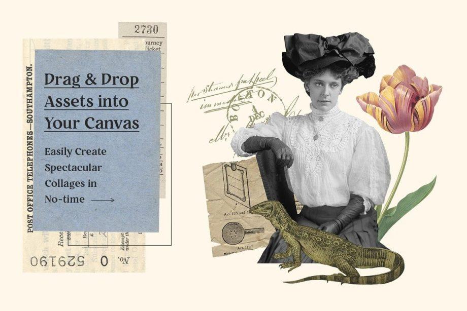Graphic Goods Vintage Collage Creator 2