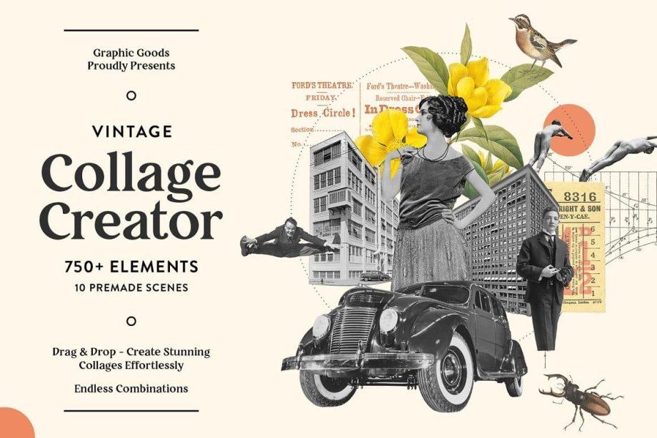Graphic Goods - Vintage Collage Creator
