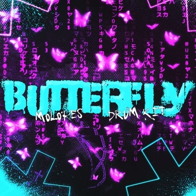 MOLORES BUTTERFLY Drum Kit