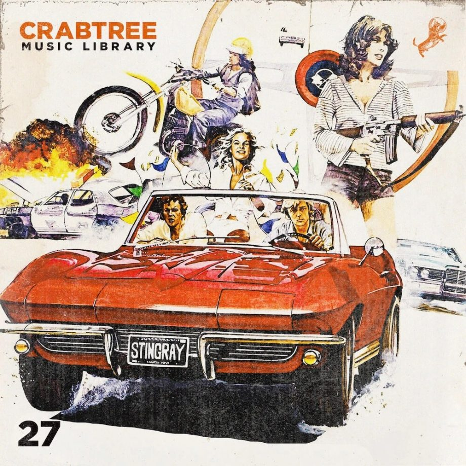 The Drum Broker - Crabtree Music Library Vol. 27