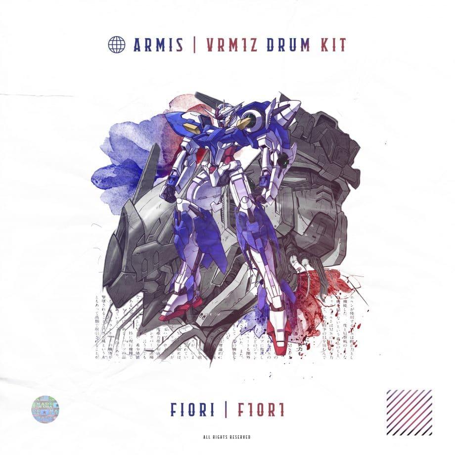 Design by Fiori - ARMIS VRM1Z Drum Kit