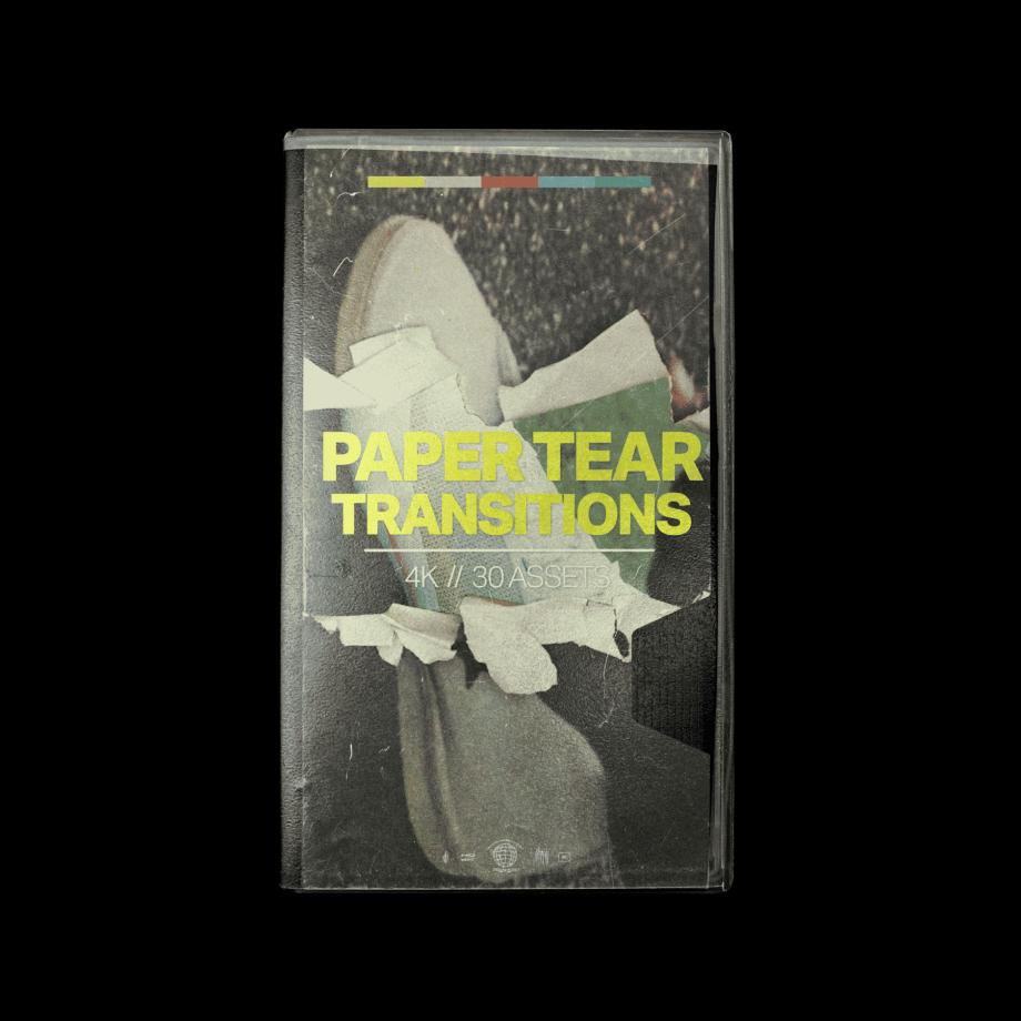 Tropic Colour - Paper Tear Transitions